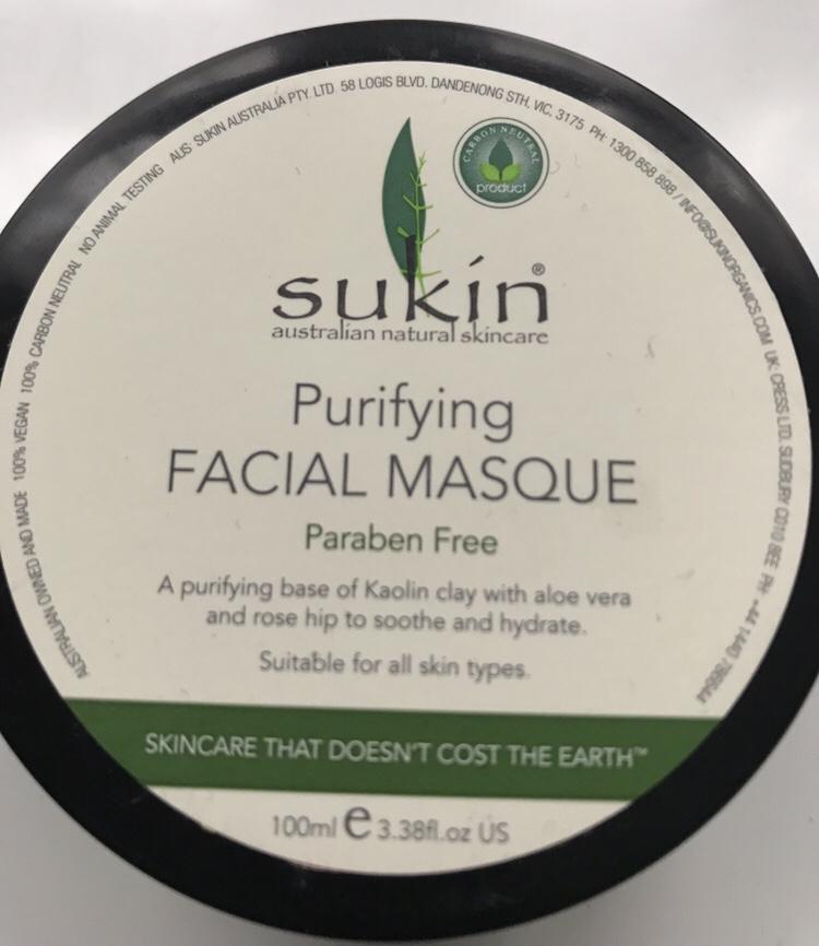 Sukin Purifying Facial Masque Review
